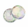Acrylic 14mm Round Facet Crystal Aurora Borealis